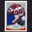 1990 Fleer Football #378 Ron Heller - Atlanta Falcons