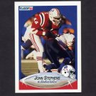 1990 Fleer Football #328 John Stephens - New England Patriots