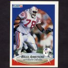1990 Fleer Football #317 Bruce Armstrong - New England Patriots