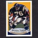1990 Fleer Football #315 Broderick Thompson RC - San Diego Chargers