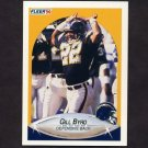 1990 Fleer Football #306 Gill Byrd - San Diego Chargers