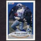 1990 Fleer Football #281 Richard Johnson - Detroit Lions