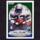 1990 Fleer Football #274 John L. Williams - Seattle Seahawks
