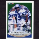 1990 Fleer Football #266 Jacob Green - Seattle Seahawks
