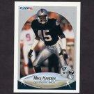 1990 Fleer Football #255 Mike Harden - Los Angeles Raiders