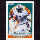 1990 Fleer Football #236 Mark Clayton - Miami Dolphins
