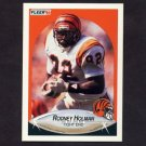 1990 Fleer Football #216 Rodney Holman - Cincinnati Bengals