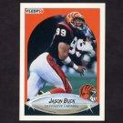 1990 Fleer Football #212 Jason Buck - Cincinnati Bengals
