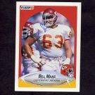 1990 Fleer Football #203 Bill Maas - Kansas City Chiefs