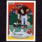 1990 Fleer Football #202 Nick Lowery - Kansas City Chiefs