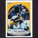 1990 Fleer Football #139 Gary Anderson - Pittsburgh Steelers