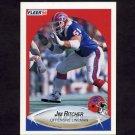 1990 Fleer Football #120 Jim Ritcher RC - Buffalo Bills