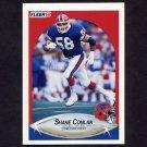 1990 Fleer Football #112 Shane Conlan - Buffalo Bills