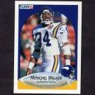 1990 Fleer Football #107 Herschel Walker - Minnesota Vikings