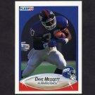1990 Fleer Football #073 Dave Meggett - New York Giants