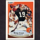 1990 Fleer Football #051 Bernie Kosar - Cleveland Browns