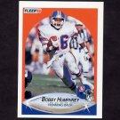 1990 Fleer Football #023 Bobby Humphrey - Denver Broncos