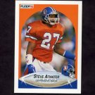 1990 Fleer Football #018 Steve Atwater - Denver Broncos