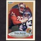1990 Fleer Football #001 Harris Barton - San Francisco 49ers