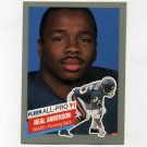 1991 Fleer Football All-Pros #11 Neal Anderson - Chicago Bears