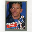 1991 Fleer Football All-Pros #01 Andre Reed UER - Buffalo Bills ExMt