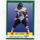 1991 Fleer Football #402 Mike Singletary HIT - Chicago Bears