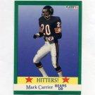 1991 Fleer Football #401 Mark Carrier HIT - Chicago Bears