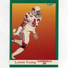 1991 Fleer Football #351 Lonnie Young - Phoenix Cardinals
