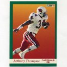 1991 Fleer Football #350 Anthony Thompson - Phoenix Cardinals