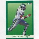 1991 Fleer Football #329 Keith Jackson - Philadelphia Eagles