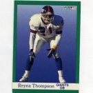 1991 Fleer Football #320 Reyna Thompson - New York Giants
