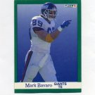 1991 Fleer Football #307 Mark Bavaro - New York Giants