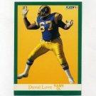 1991 Fleer Football #272 Duval Love RC - Los Angeles Rams