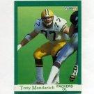 1991 Fleer Football #257 Tony Mandarich - Green Bay Packers