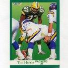 1991 Fleer Football #253 Tim Harris - Green Bay Packers