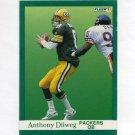 1991 Fleer Football #251 Anthony Dilweg - Green Bay Packers