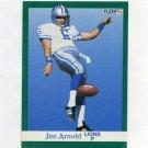 1991 Fleer Football #239 Jim Arnold - Detroit Lions