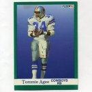 1991 Fleer Football #227 Tommie Agee - Dallas Cowboys