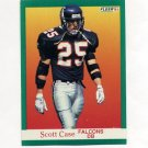 1991 Fleer Football #197 Scott Case - Atlanta Falcons