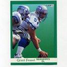 1991 Fleer Football #185 Grant Feasel - Seattle Seahawks
