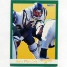1991 Fleer Football #178 Gary Plummer - San Diego Chargers