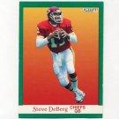 1991 Fleer Football #089 Steve DeBerg - Kansas City Chiefs