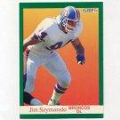 1991 Fleer Football #055 Jim Szymanski - Denver Broncos