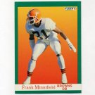 1991 Fleer Football #040 Frank Minnifield - Cleveland Browns