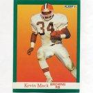1991 Fleer Football #038 Kevin Mack - Cleveland Browns