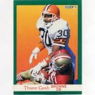 1991 Fleer Football #034 Thane Gash - Cleveland Browns