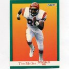 1991 Fleer Football #025 Tim McGee - Cincinnati Bengals