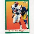 1991 Fleer Football #022 Harold Green - Cincinnati Bengals