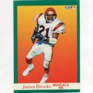 1991 Fleer Football #016 James Brooks - Cincinnati Bengals