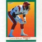 1991 Fleer Football #015 Lewis Billups - Cincinnati Bengals